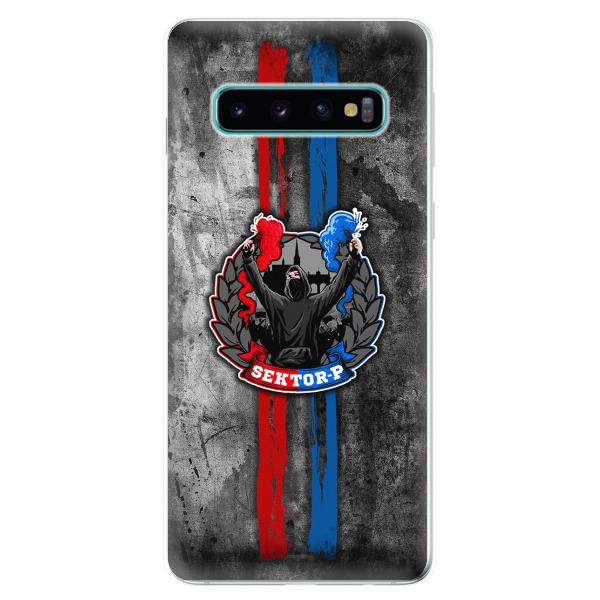 Silikonové pouzdro - FCVP - Fanatik na mobil Samsung Galaxy S10