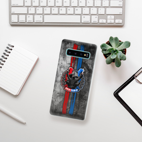 Odolné silikonové pouzdro iSaprio - FCVP - Fanatik na mobil Samsung Galaxy S10