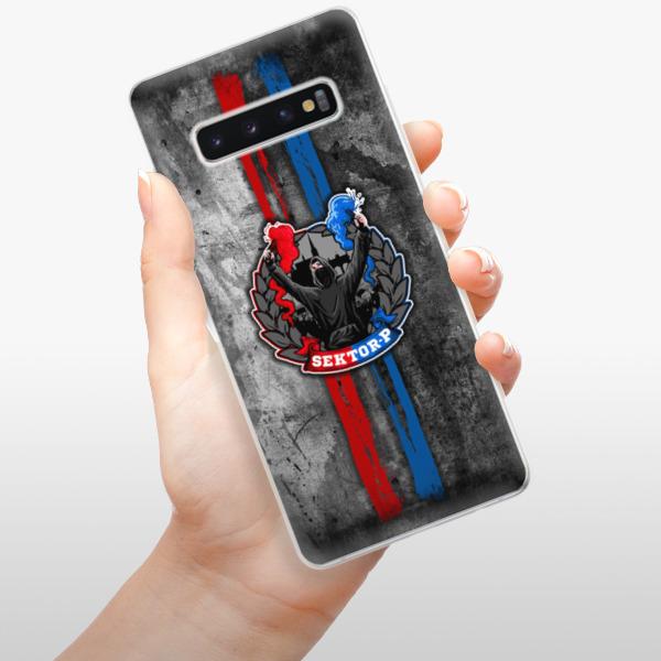 Odolné silikonové pouzdro iSaprio - FCVP - Fanatik na mobil Samsung Galaxy S10 Plus