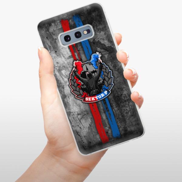 Odolné silikonové pouzdro iSaprio - FCVP - Fanatik na mobil Samsung Galaxy S10e