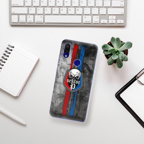 Odolné silikonové pouzdro iSaprio - FCVP - Lebka na mobil Xiaomi Redmi 7