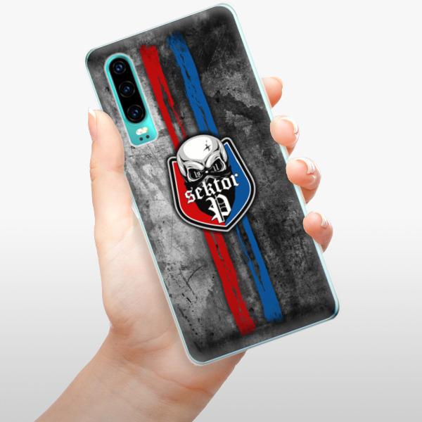 Odolné silikonové pouzdro iSaprio - FCVP - Lebka na mobil Huawei P30