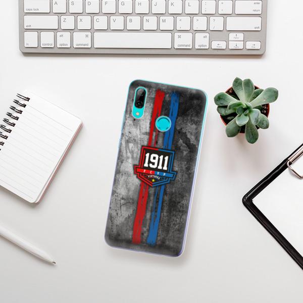 Odolné silikonové pouzdro iSaprio - FCVP - Erb na mobil Huawei P Smart 2019