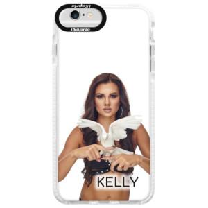 Silikonové pouzdro Bumper iSaprio - Kelly s hrdličkou na mobil Apple iPhone 6 Plus / 6S Plus + podepsaná karta s Kelly