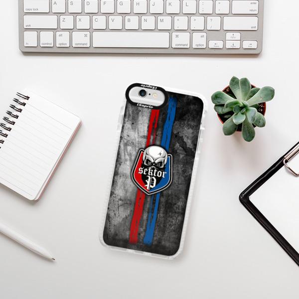 Silikonové pouzdro Bumper iSaprio - FCVP - Lebka na mobil Apple iPhone 6 Plus / 6S Plus