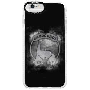 Odolné silikonové pouzdro Bumper - Škodovácí - Dark logo na mobil Apple iPhone 6 Plus / 6S Plus