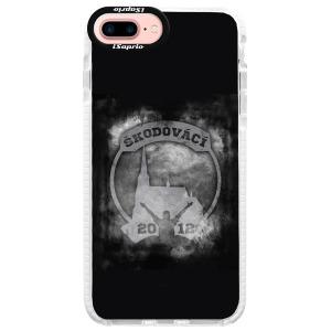 Odolné silikonové pouzdro Bumper - Škodovácí - Dark logo na mobil Apple iPhone 7 Plus