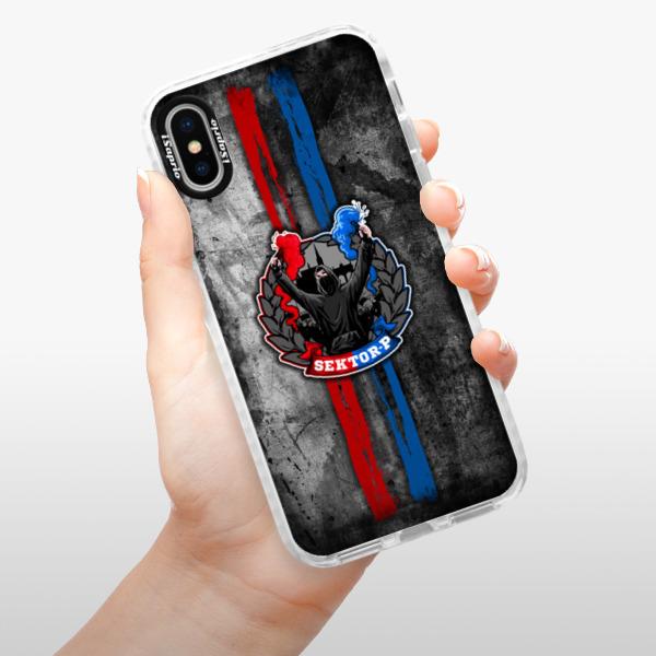 Silikonové pouzdro Bumper iSaprio - FCVP - Fanatik na mobil Apple iPhone X