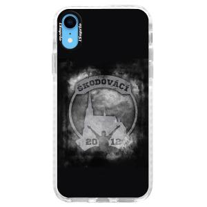 Odolné silikonové pouzdro Bumper - Škodovácí - Dark logo na mobil Apple iPhone XR