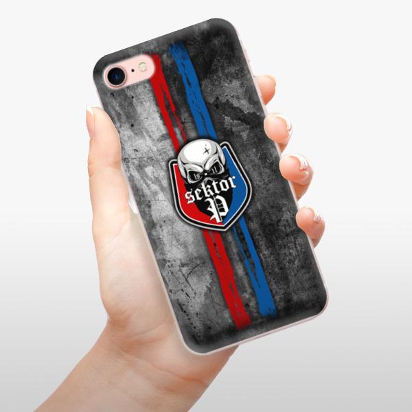 Odolné silikonové pouzdro iSaprio - FCVP - Lebka na mobil Apple iPhone 7