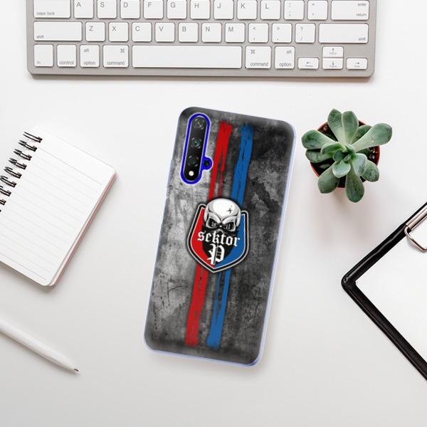 Odolné silikonové pouzdro iSaprio - FCVP - Lebka na mobil Honor 20