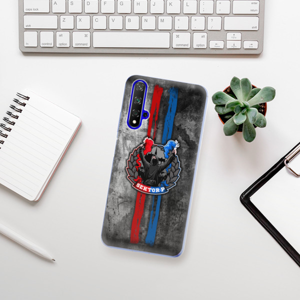 Odolné silikonové pouzdro iSaprio - FCVP - Fanatik na mobil Honor 20
