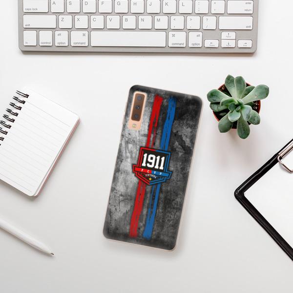 Odolné silikonové pouzdro iSaprio - FCVP - Erb na mobil Samsung Galaxy A7 (2018)