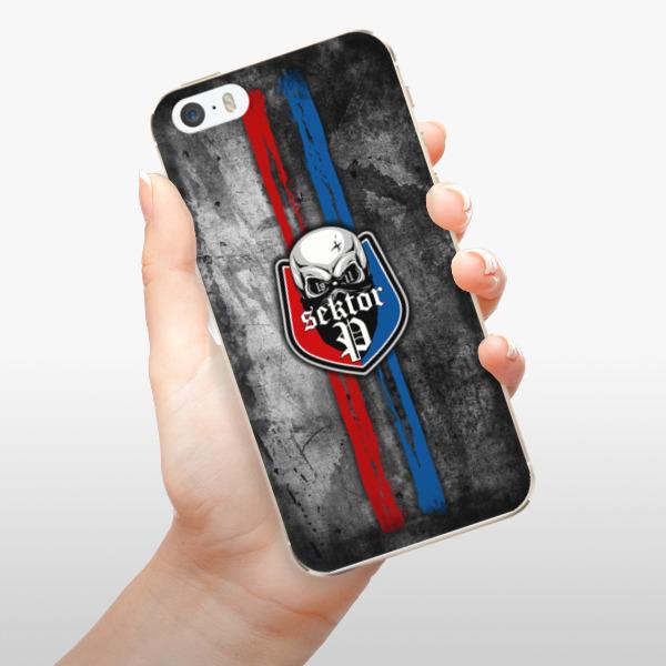 Odolné silikonové pouzdro iSaprio - FCVP - Lebka na mobil Apple iPhone 5 / 5S / SE
