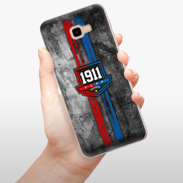 Odolné silikonové pouzdro iSaprio - FCVP - Erb na mobil Samsung Galaxy J4 Plus