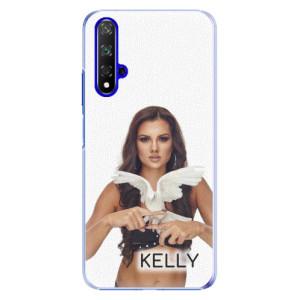 Plastové pouzdro iSaprio - Kelly s hrdličkou na mobil Honor 20 + podepsaná karta s Kelly