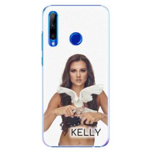 Plastové pouzdro iSaprio - Kelly s hrdličkou na mobil Honor 20 Lite + podepsaná karta s Kelly