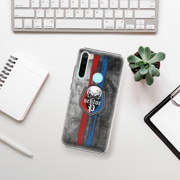 Plastové pouzdro iSaprio - FCVP - Lebka na mobil Xiaomi Redmi Note 8