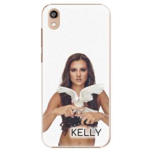 Plastové pouzdro iSaprio - Kelly s hrdličkou na mobil Honor 8S + podepsaná karta s Kelly