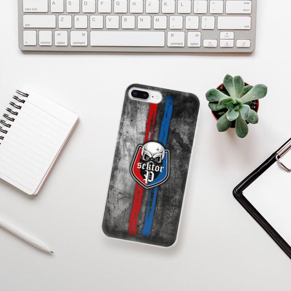 Odolné silikonové pouzdro iSaprio - FCVP - Lebka na mobil Apple iPhone 8 Plus
