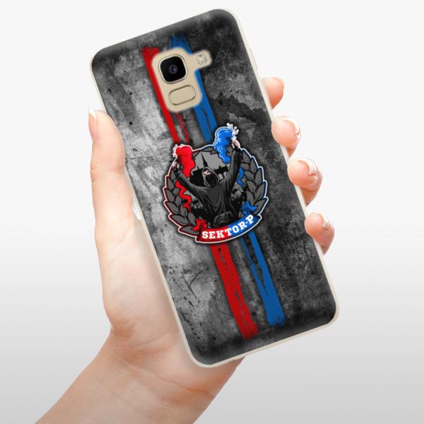 Odolné silikonové pouzdro iSaprio - FCVP - Fanatik na mobil Samsung Galaxy J6