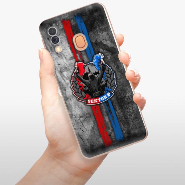 Odolné silikonové pouzdro iSaprio - FCVP - Fanatik na mobil Samsung Galaxy A40