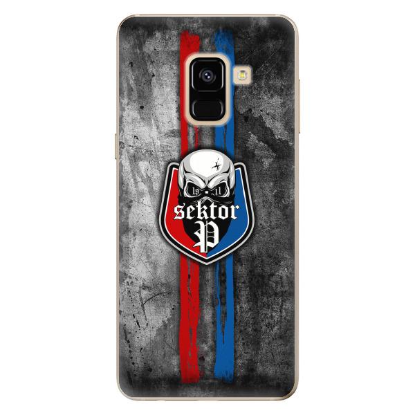 Silikonové pouzdro - FCVP - Lebka na mobil Samsung Galaxy A8 2018