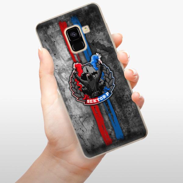 Odolné silikonové pouzdro iSaprio - FCVP - Fanatik na mobil Samsung Galaxy A8 2018