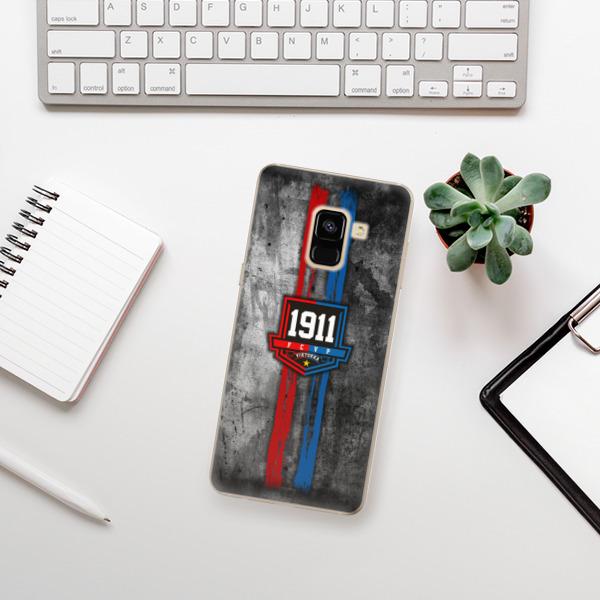 Odolné silikonové pouzdro iSaprio - FCVP - Erb na mobil Samsung Galaxy A8 2018