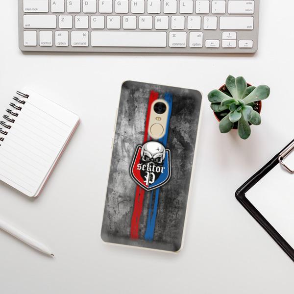 Odolné silikonové pouzdro iSaprio - FCVP - Lebka na mobil Xiaomi Redmi Note 4