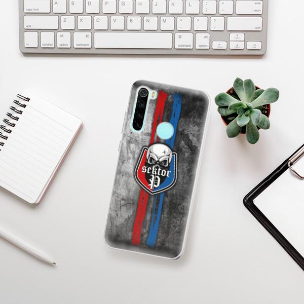 Odolné silikonové pouzdro iSaprio - FCVP - Lebka na mobil Xiaomi Redmi Note 8