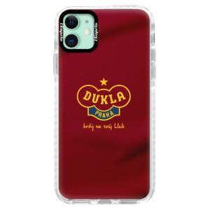 Silikonové pouzdro Bumper iSaprio - FK Dukla Praha - na mobil Apple iPhone 11