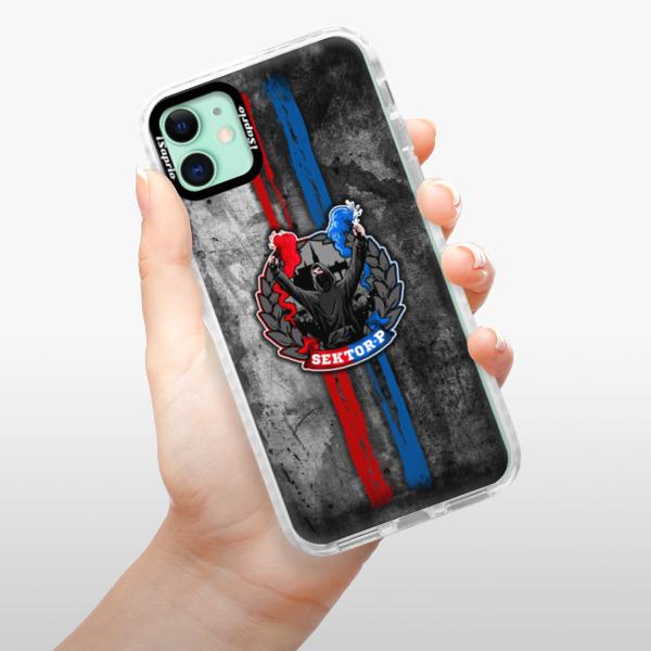 Silikonové pouzdro Bumper iSaprio - FCVP - Fanatik na mobil Apple iPhone 11