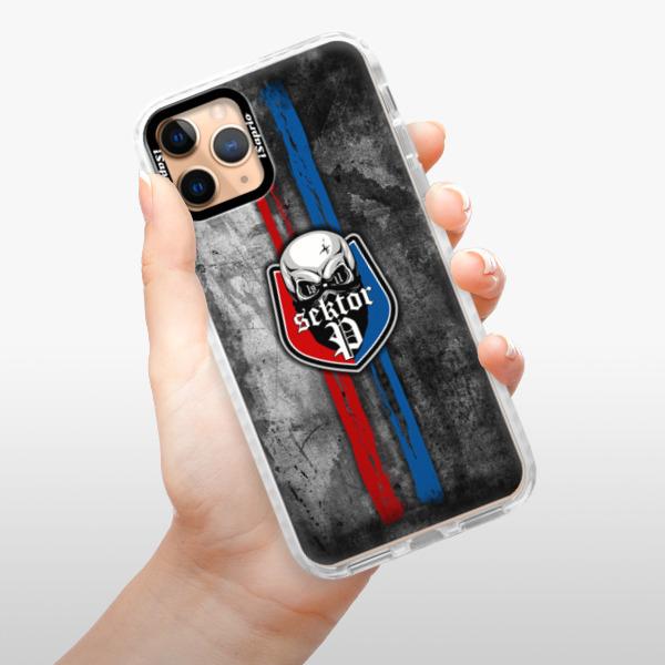 Silikonové pouzdro Bumper iSaprio - FCVP - Lebka na mobil Apple iPhone 11 Pro