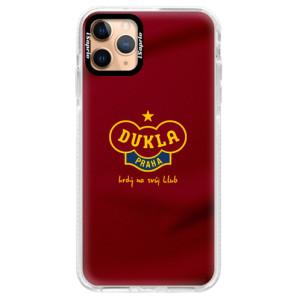 Silikonové pouzdro Bumper iSaprio - FK Dukla Praha - na mobil Apple iPhone 11 Pro Max