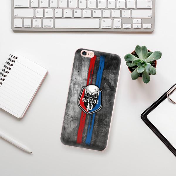 Odolné silikonové pouzdro iSaprio - FCVP - Lebka na mobil Apple iPhone 6 Plus / 6S Plus