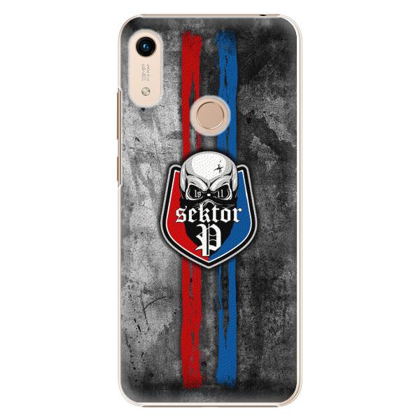 Plastový kryt - FCVP - Lebka na mobil Honor 8A