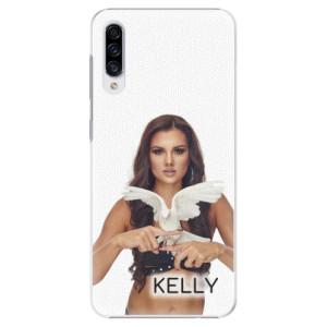 Plastové pouzdro iSaprio - Kelly s hrdličkou na mobil Samsung Galaxy A30s + podepsaná karta s Kelly