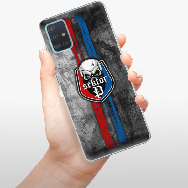 Plastové pouzdro iSaprio - FCVP - Lebka na mobil Samsung Galaxy A51
