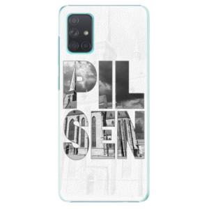 Plastové pouzdro iSaprio - Pilsen Bartoloměj - na mobil Samsung Galaxy A71