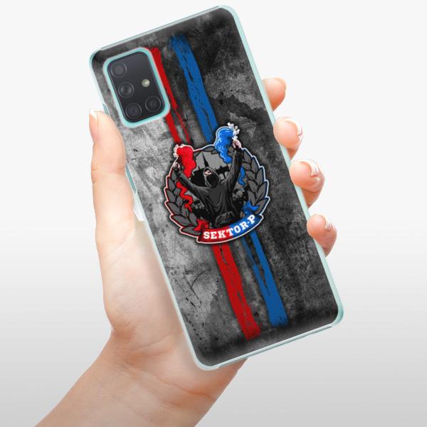 Plastové pouzdro iSaprio - FCVP - Fanatik na mobil Samsung Galaxy A71