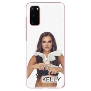 Plastové pouzdro iSaprio - Kelly s hrdličkou na mobil Samsung Galaxy S20 + podepsaná karta s Kelly