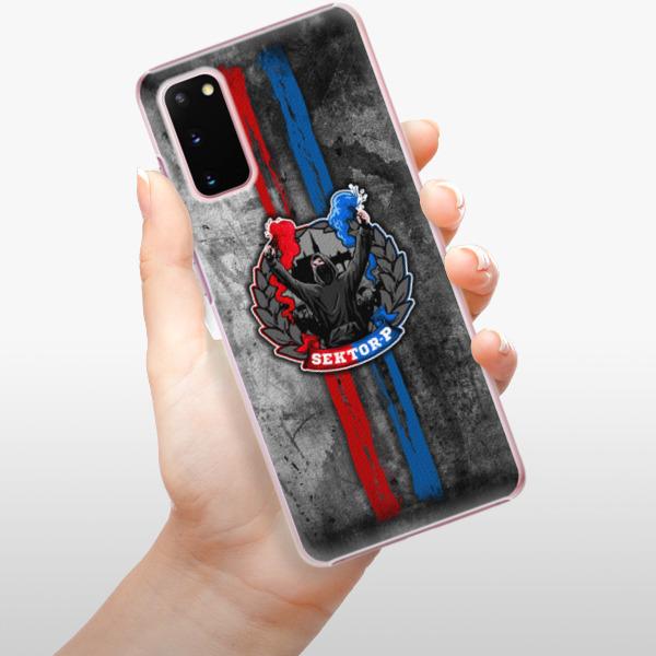 Plastové pouzdro iSaprio - FCVP - Fanatik na mobil Samsung Galaxy S20