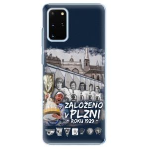 Plastové pouzdro iSaprio - Založeno v Plzni roku 1929 - na mobil Samsung Galaxy S20 Plus