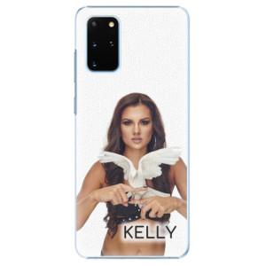 Plastové pouzdro iSaprio - Kelly s hrdličkou na mobil Samsung Galaxy S20 Plus + podepsaná karta s Kelly