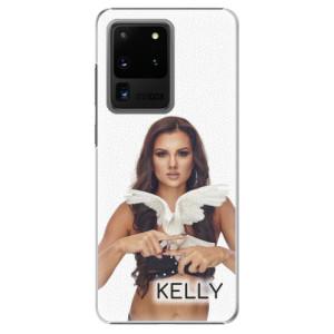 Plastové pouzdro iSaprio - Kelly s hrdličkou na mobil Samsung Galaxy S20 Ultra + podepsaná karta s Kelly