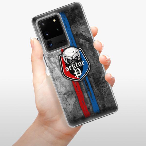 Plastové pouzdro iSaprio - FCVP - Lebka na mobil Samsung Galaxy S20 Ultra