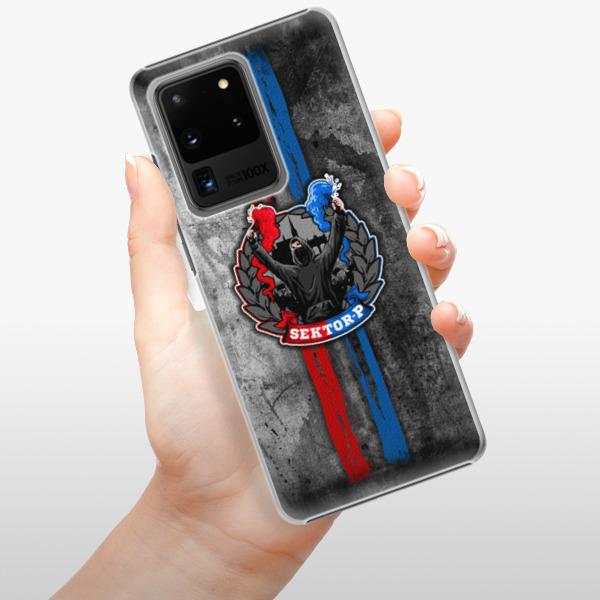 Plastové pouzdro iSaprio - FCVP - Fanatik na mobil Samsung Galaxy S20 Ultra