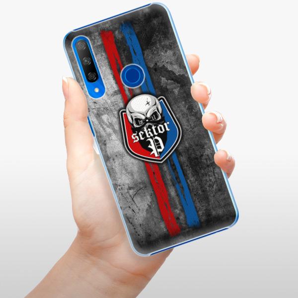 Plastové pouzdro iSaprio - FCVP - Lebka na mobil Honor 9X