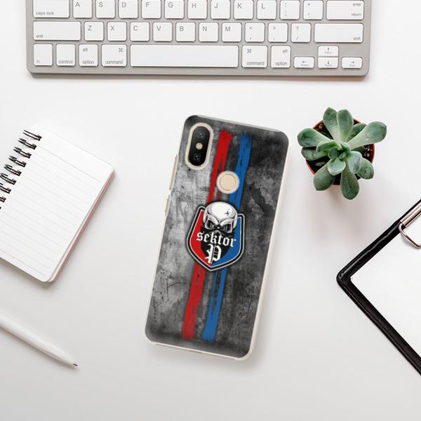 Plastové pouzdro iSaprio - FCVP - Lebka na mobil Xiaomi Mi A2